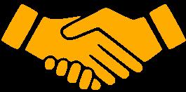 Handshake orange_1